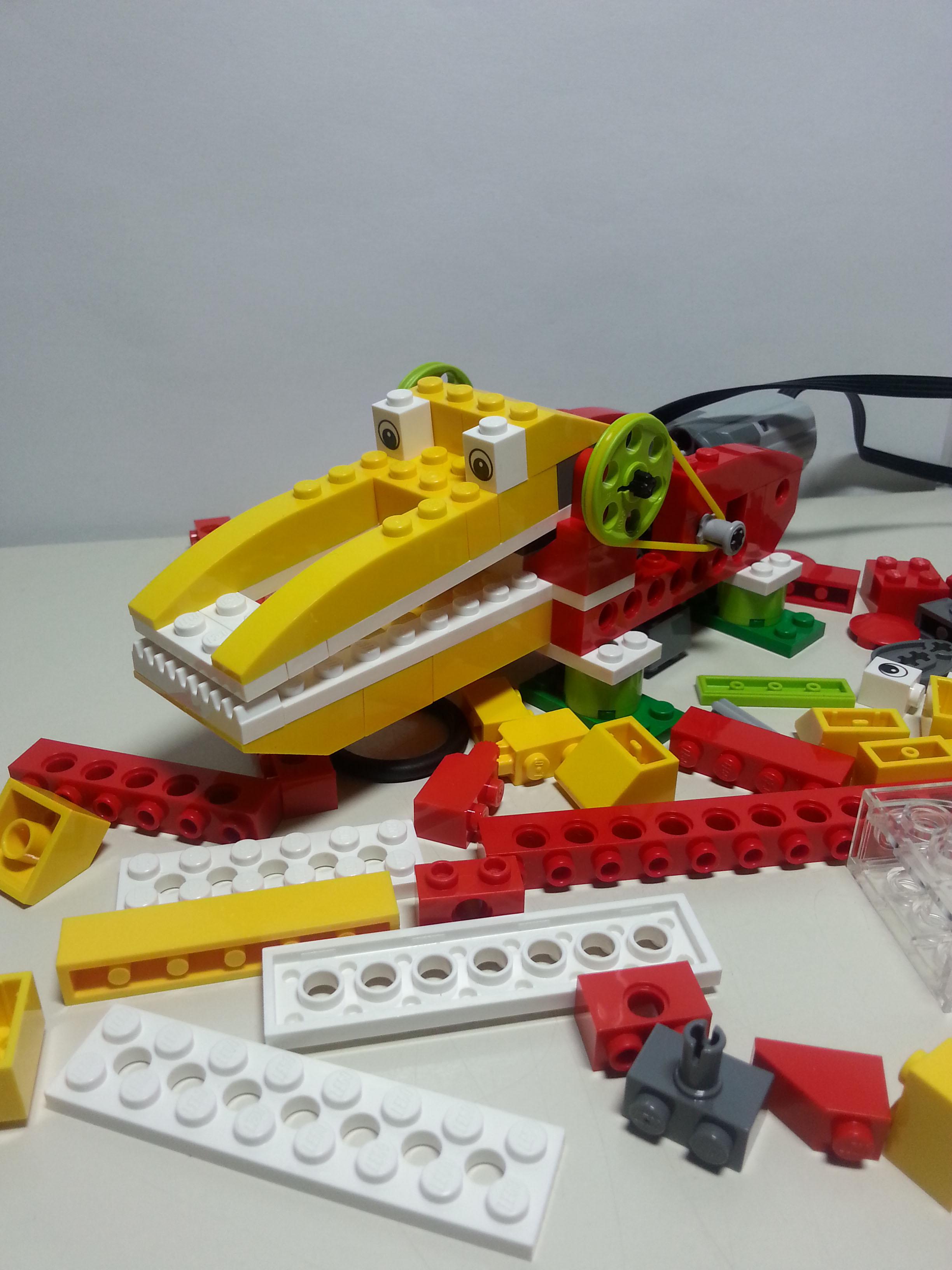 Aprendre mitjançant LEGO WeDo