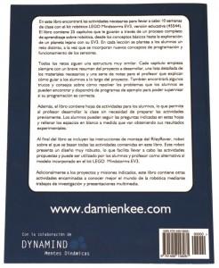 Contratapa llibre Activitats de robòtica educativa per al professor ocupat